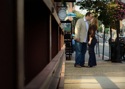 Engagement Portrait by Washington DC Wedding Photographer, Ben Rasmussen Photography