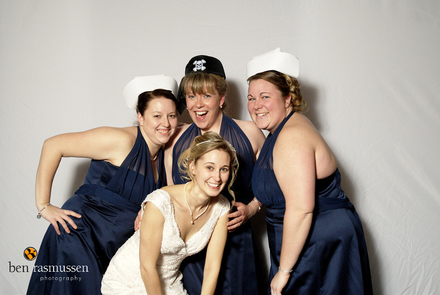Jessica and Lennie's Photo booth by Washington DC wedding photographer Ben Rasmussen Photography
