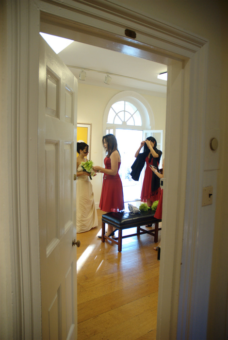 Bride and bridesmaids getting ready | Washington DC Wedding Photographer, Ben Rasmussen Photography