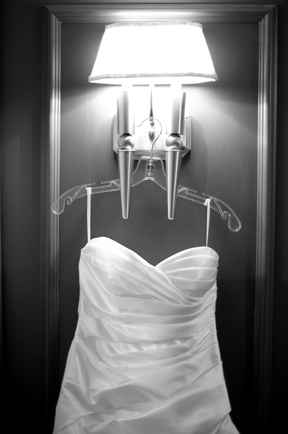 Wedding Dress by Washington DC wedding photographer Ben Rasmussen Photography